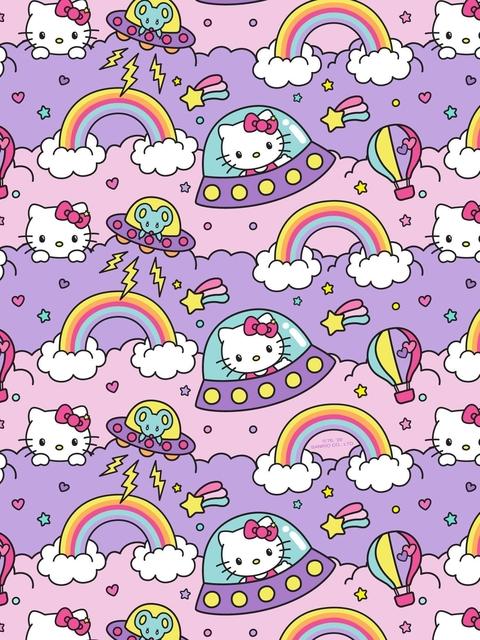 60731 4 Size Sticker Sheet Kamio Japan Sanrio License Hello Kitty /& Friends